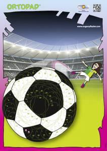 Bilde av Motivasjonsplakat Fotball jente