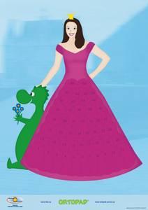 Bilde av Motivasjonsplakat Prinsesse