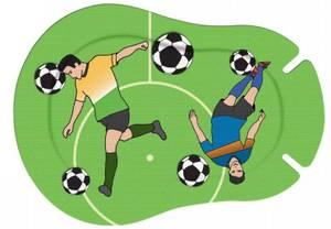 Bilde av Ortopad Mix Fotballspiller 20 stk