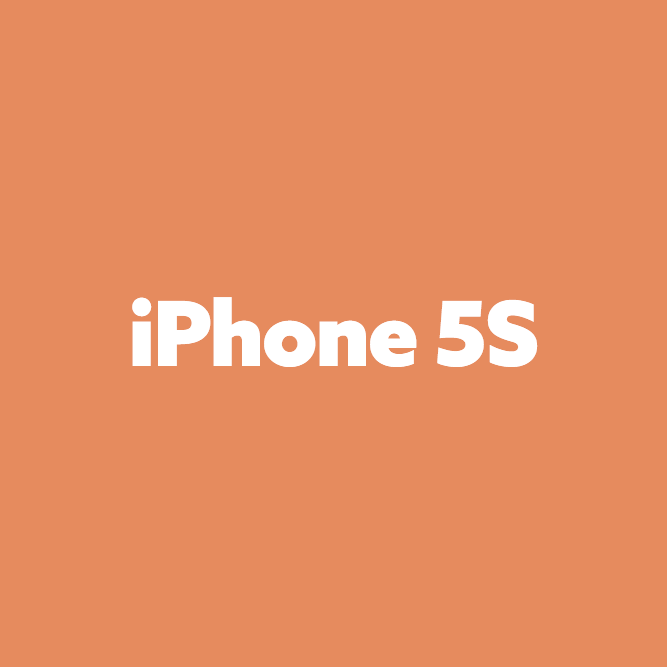 Bilde av iPhone 5S