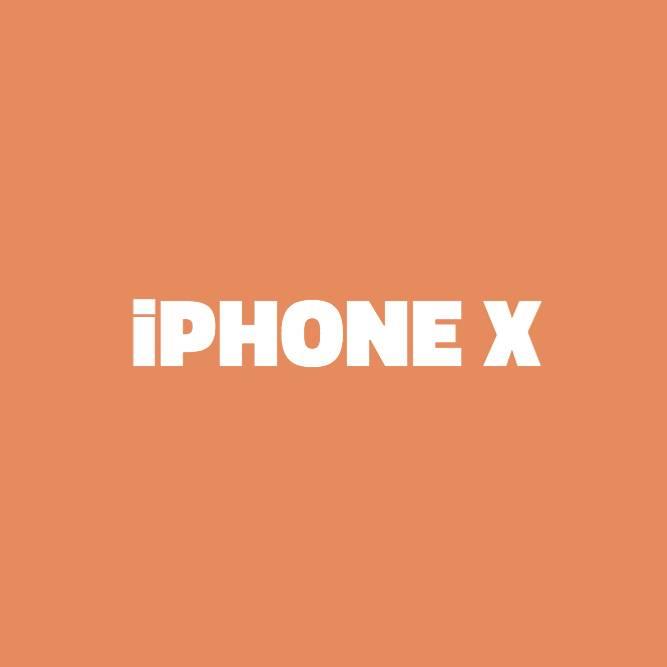 Bilde av iPhone X