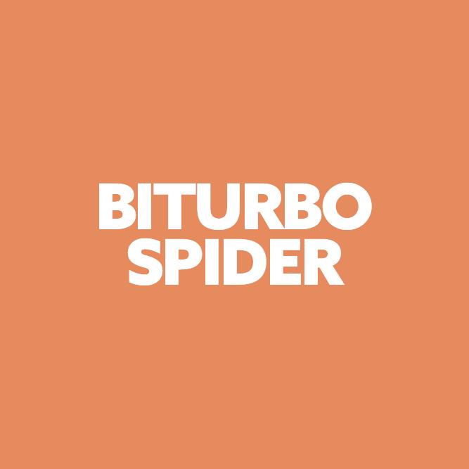 Bilde av Biturbo/spider