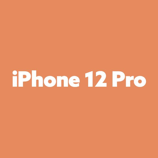 Bilde av iPhone 12 Pro