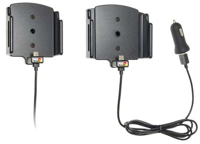 Bilde av Brodit justerbar Aktiv hållare med USB-C &