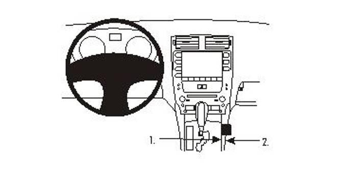Bilde av Brodit ProClip Console Mnt Lexus IS/IS