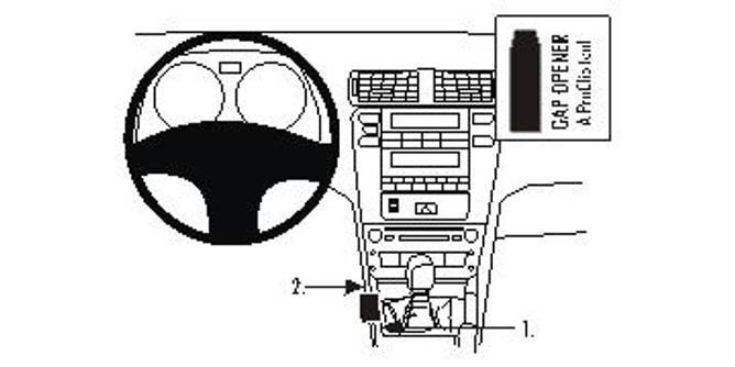 Bilde av Brodit ProClip Console Mount Lexus IS Series