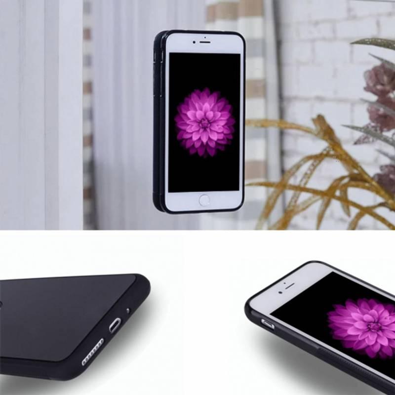 Bilde av Anti Gravity Silikon Deksel Svart - iPhone 8