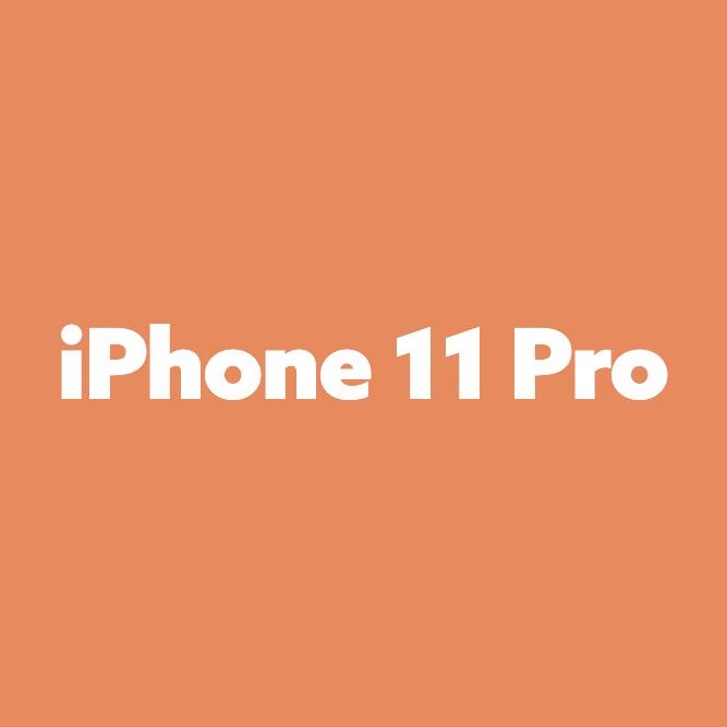 Bilde av iPhone 11 Pro