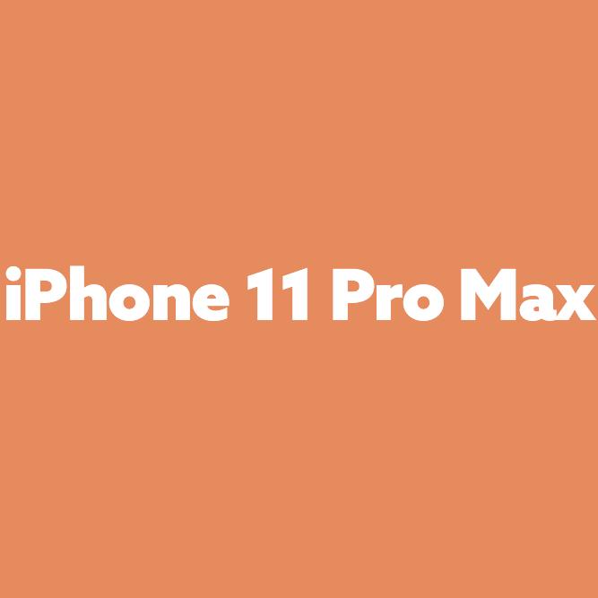 Bilde av iPhone 11 Pro Max