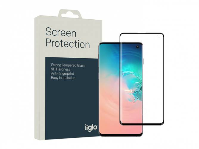 Bilde av Samsung Galaxy S10 skjermbeskyttelse