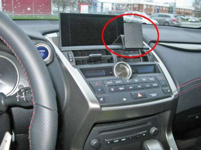 Bilde av Brodit ProClip Angled Mount Lexus NX Series 15-17