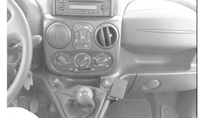 Bilde av Brodit ProClip Angled mount - Fiat Doblò