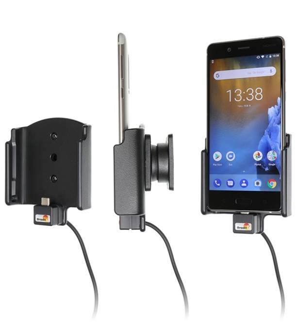 Bilde av Brodit Aktiv Bilholder m/USB - Nokia 8
