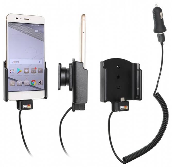 Bilde av Brodit Aktiv Bilholder m/USB - Huawei P10 Plus