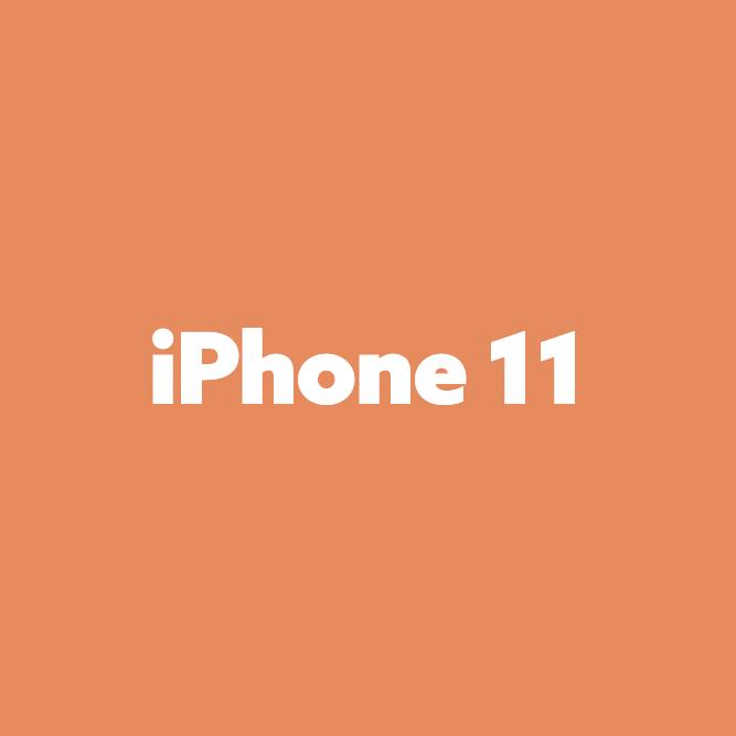 Bilde av iPhone 11