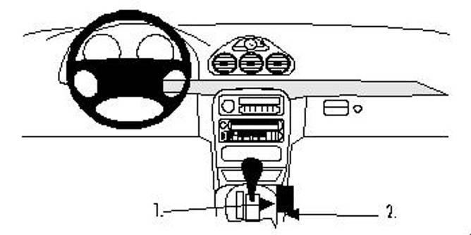 Bilde av Brodit ProClip Console Mount - Chrysler 300M