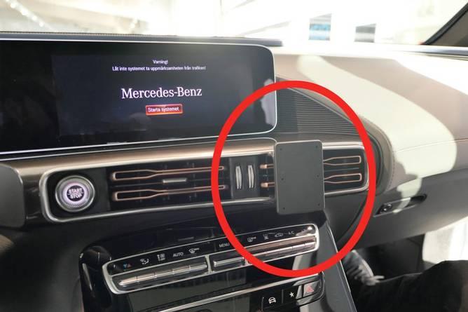 Bilde av Brodit ProClip Angled Mount - Mercedes Benz EQC