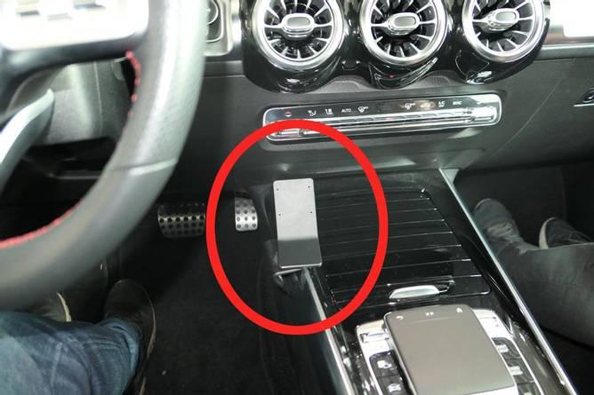 Bilde av Brodit ProClip Console Left mount Mercedes Benz