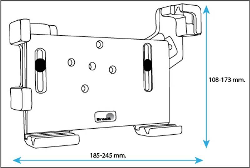 Bilde av Brodit passiv universal holder for nettbrett