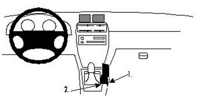 Bilde av Brodit ProClip Console Mnt Chevrolet