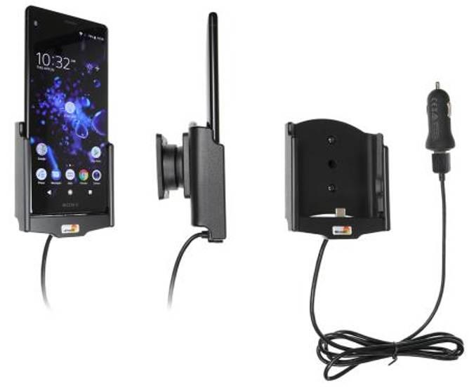 Bilde av Brodit Aktiv Bilholder m/USB Sony Xperia XZ2