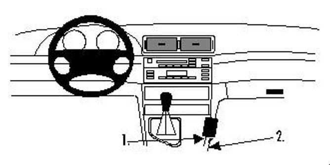 Bilde av Brodit ProClip Console Mount BMW 3-serie M3