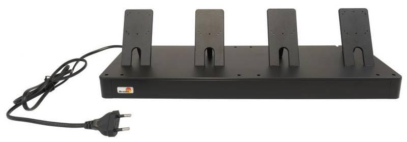 Bilde av Brodit bordstativ for fire enheter, for holdere med USB