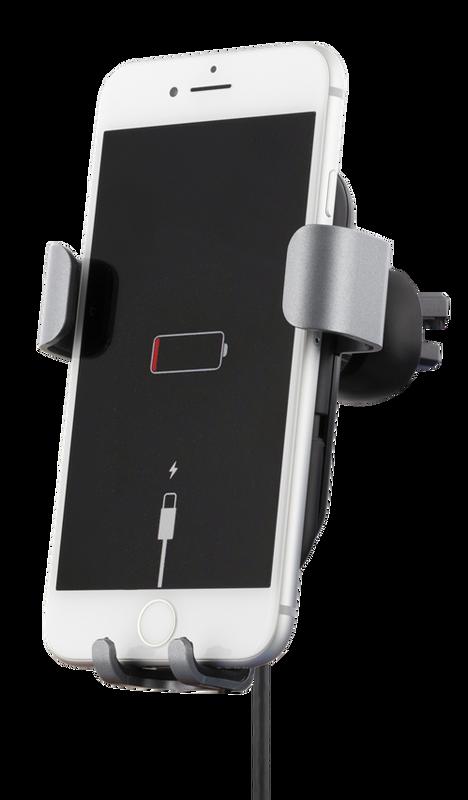 Bilde av Universal bilholder med QI-lading