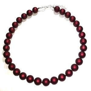 Bilde av Alma rød smykke
