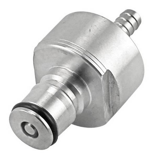 Ball lock ventil med nippel