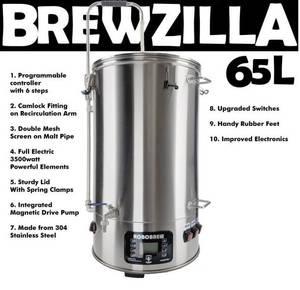 Bilde av RoboBrew BrewZilla 65L, generasjon 3.1.1