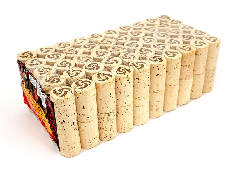 100 stk Naturkork til vinflasker