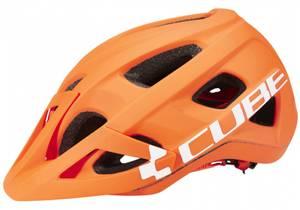 Bilde av CUBE AM RACE Hjelm, orange n white