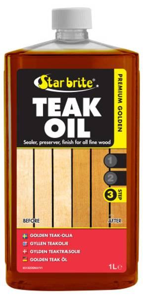Bilde av Starbrite Teak Oil, 1L