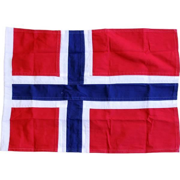 Bilde av Norsk Båtflagg 50cm, Royal bomull