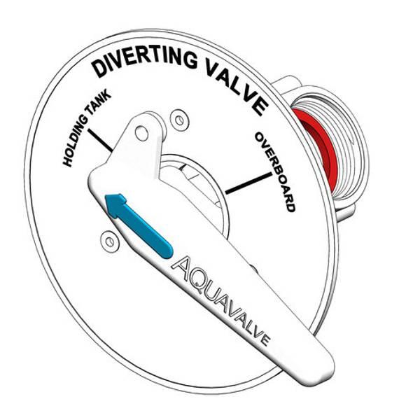 Bilde av TruDesign Y-ventil ,skottmontert