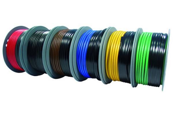 Bilde av PVC isolert fortinnt kabel rød, 6mm2