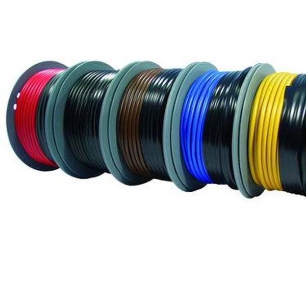 Bilde av PVC isolert fortinnet kabel sort, 6mm2