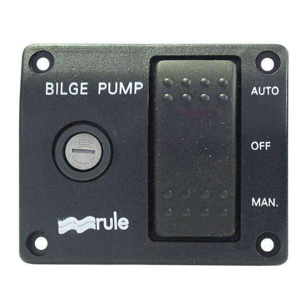 Bilde av Bryterpanel 12V, Rule