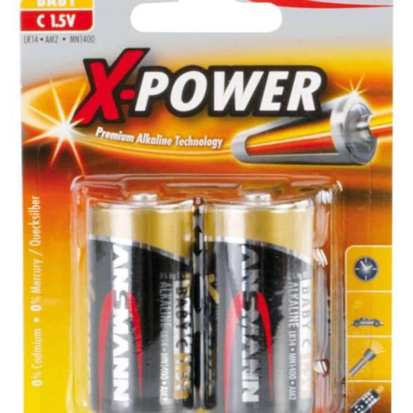 Bilde av Alkaline X-Power C, 2-pk