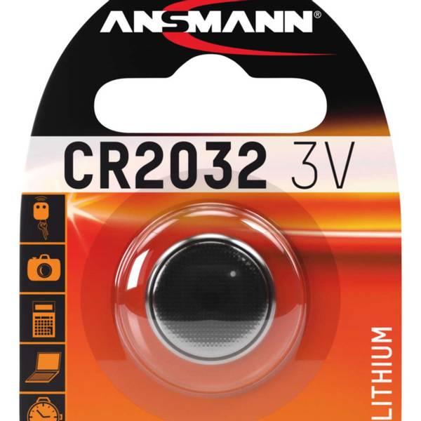 Bilde av Lithium batteri CR2032, 1-pk
