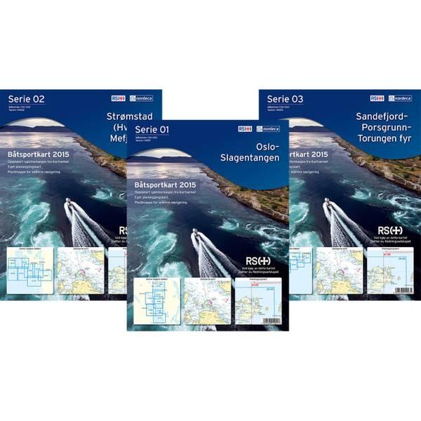 Bilde av Båtsportkart Serie 02 Strømstad- Mefjord