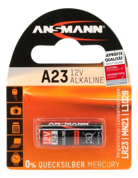 Bilde av Alkaline batteri A23, 1-pk
