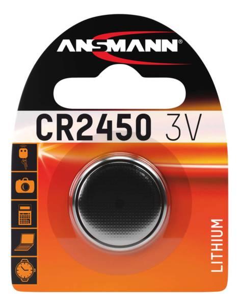 Bilde av Lithium batteri CR2450, 1-pk