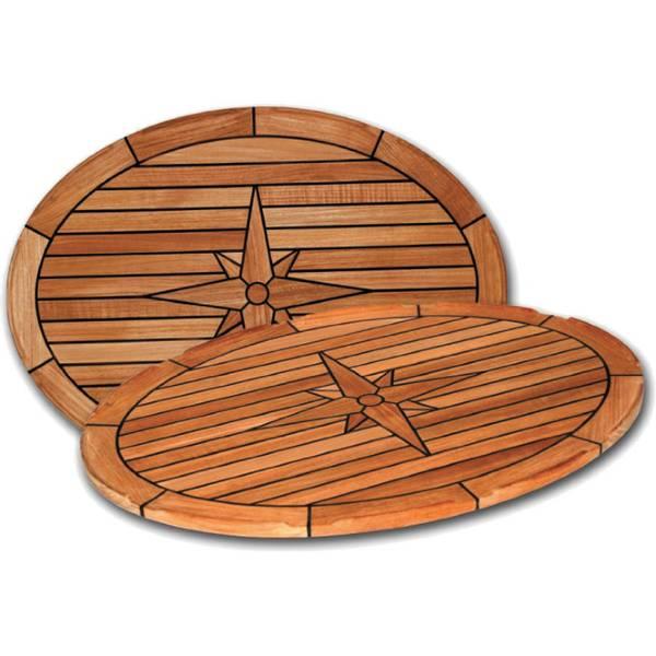 Bilde av Bordplate, Nautic star , ovalt