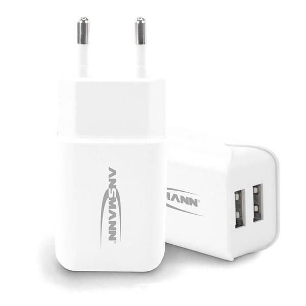 Bilde av Ladekloss med to USB tilkoblinger