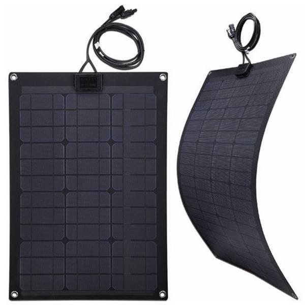 Bilde av Fleksibelt 50W solcellepanel