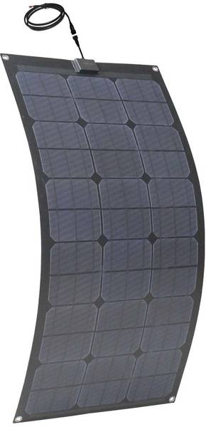 Bilde av Fleksibelt 100W solcellepanel