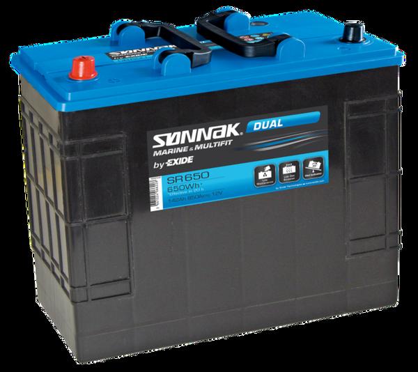 Bilde av Sønnak / Exide SR 650, start forbruksbatteri