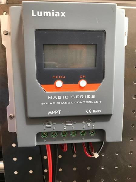 Bilde av Lumiax Solcelleregulator MPPT 30A BT